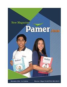 Revista informativa del Colegio Pamer