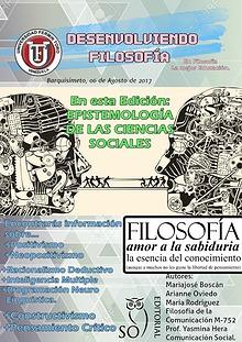 Desenvolviendo Filosofía    Revista Educativa