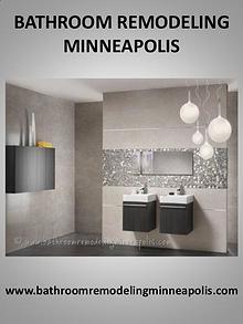 Bathroom remodel Minneapolis