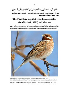 Gazelle : The Palestinian Biological Bulletin (ISSN 0178 – 6288)
