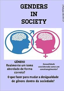 Gêneros na sociedade (Genders in society)