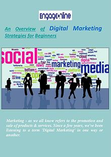 Digital Marketing Strategies for Beginners - Engage Online