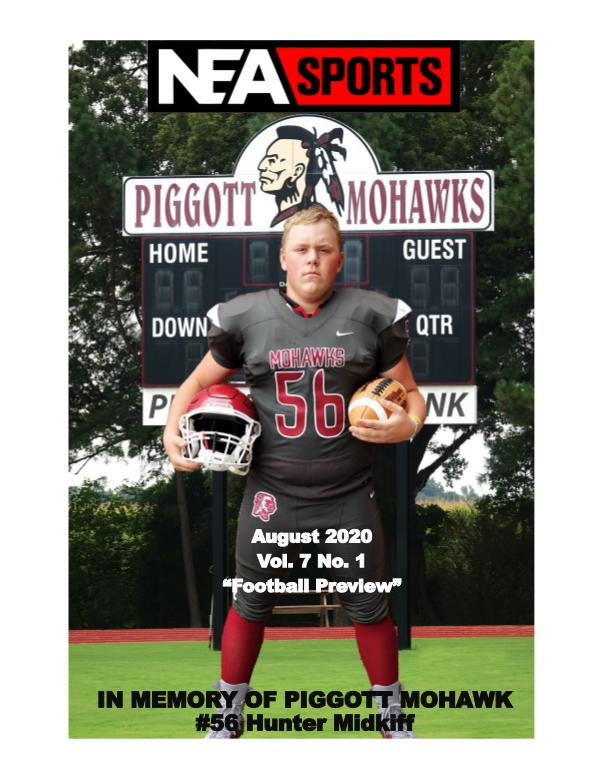 NEA Sports Magazine 2020 Football Preview Volume 7 Number 1