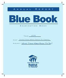 2009 Greater Muncie Habitat for Humanity Annual Report