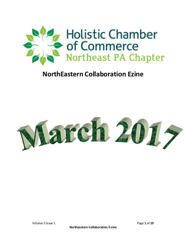 2017 NorthEast Collaboration Volume 5
