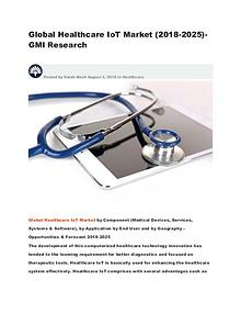 Global Healthcare IoT Market (2018-2025)-GMI Research