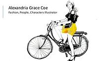 Alexandria Grace Coe - Fashion, People, Characters Illustrator