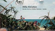 Millie McCallum – Murals, Live Art, Wildlife Illustrator, London