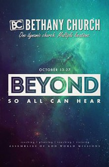 """""""Beyond So All Can Hear"""" Missions Convention"""