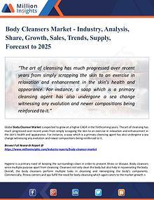 Market Research Analysis
