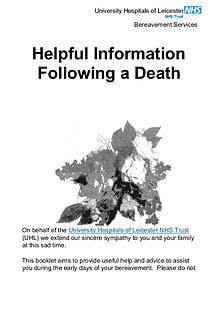 Bereavement Services Leicester