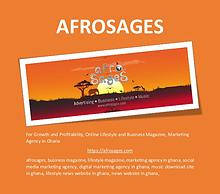 For Growth and Profitability!   AFROSAGES