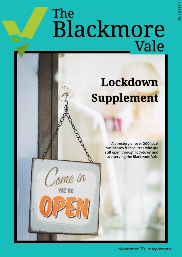 Lockdown Supplement