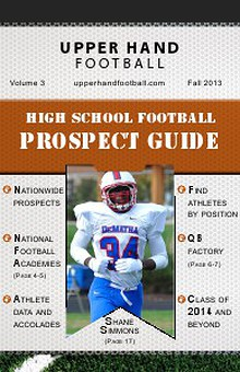 Upper Hand Promotions Football Prospect Guide