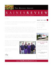 The Raines Group Newsletter - November 2013