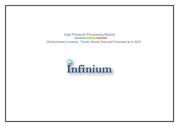 Infinium Global Research High Pressure Processing Market