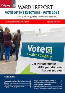 Vote of the Electors 2018