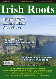Irish Roots Magazine - Autumn Issue No 87