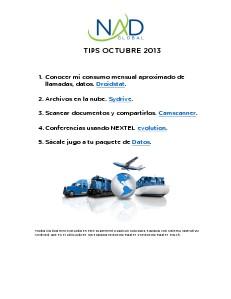 Infra Tips Oct. 2013