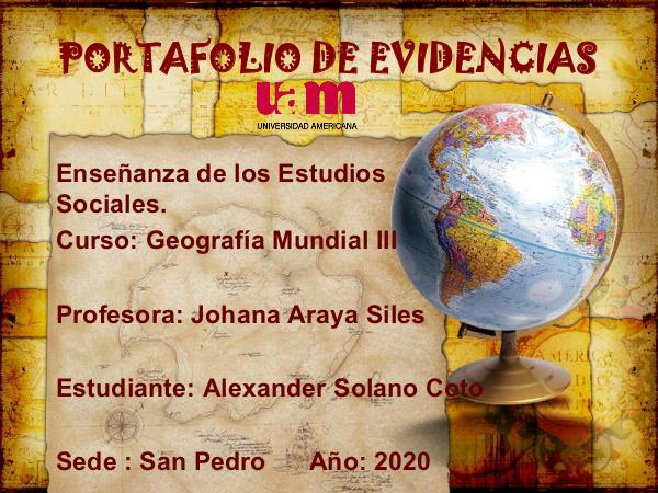 Portafolio Geografía Mundial III PORTAFOLIO GEO FINAL.