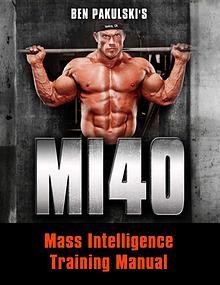 MI40 PDF / Workout, Gym, Program Free Download