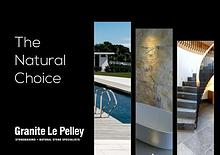 The Natural Choice Brochure from Granite Le Pelley