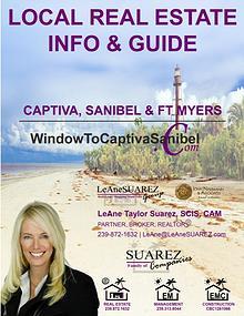 Sanibel Captiva SWFL - March 2018 Real Estate Info