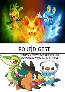 The Pokemon digest