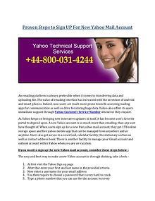 Call Yahoo Customer Care Number