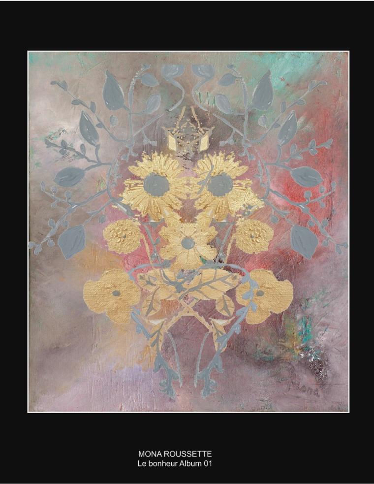 Le bonheur - Livre d'art - Mona Roussette Peintures Mona Roussette - Album 01 (1)