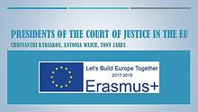 Presidents of the Court of justice in the Eu