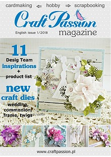 Craft Passion magazine / English issue 1/2018