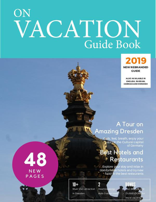 On Vacation Guide Book Dresden