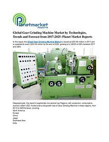 Global Gear Grinding Machine Market by Technologies