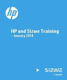 HP and Sizwe Training – January 2014