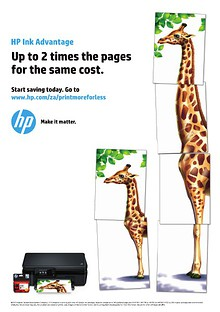 HP Ink Advantage Catalogue 2014