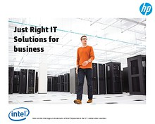 HP and Intel SMB strategy session on 29 & 30 July