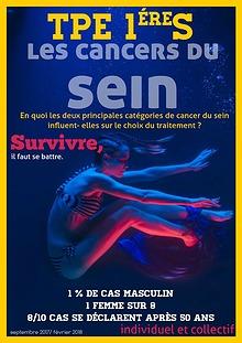 Les cancers du sein