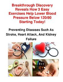 Blood Pressure Exercise Program Download