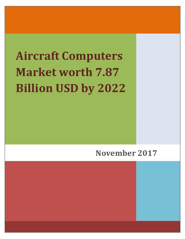 Aerospace & Aviation News Attractive Opportunities in the Aircraft Computers
