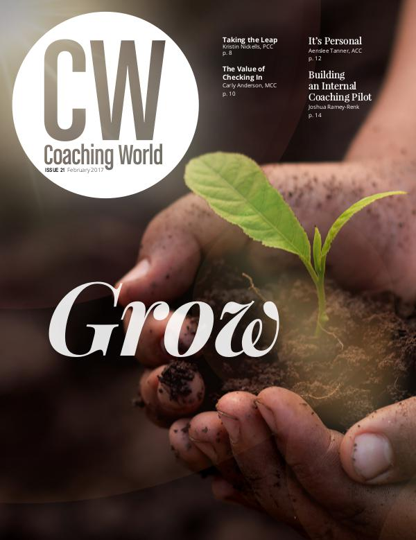 Coaching World Issue 21: Grow