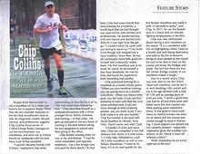 Chip Collins: The Balancing Act of a Marathoner