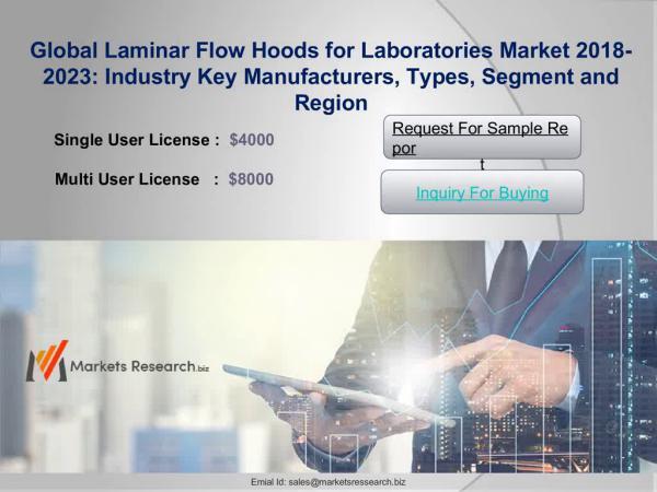 Laminar Flow Hoods for Laboratories Market 2018