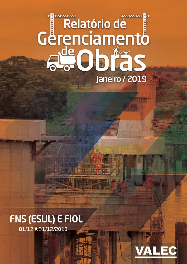 Relatório Gerencial de Obras 2019 relatorio de obras 01-2019_publicar