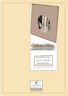 Rivista Cultura Oltre - 5° numero - Maggio 2019