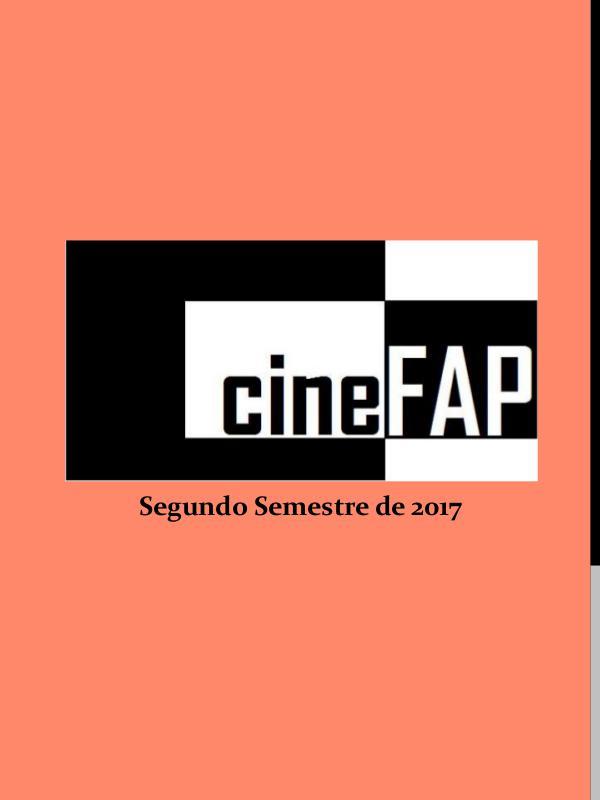 Catálogo Cine FAP Segundo Semestre de 2017