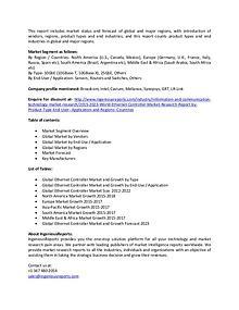IngeniousReports - 2023 World Ethernet Controller Market Forecast