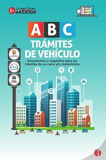 Cartilla ABC Trámites de Vehículos