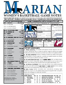Women's Basketball Game Notes