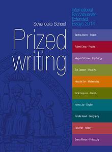IB Prized Writing